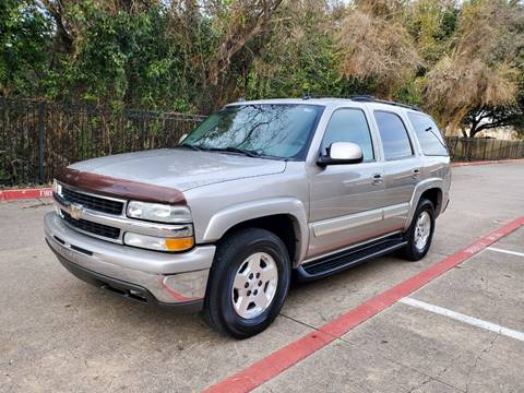 2004 Chevrolet Tahoe for sale at DFW Autohaus in Dallas TX