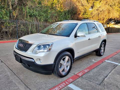 2010 GMC Acadia for sale at DFW Autohaus in Dallas TX