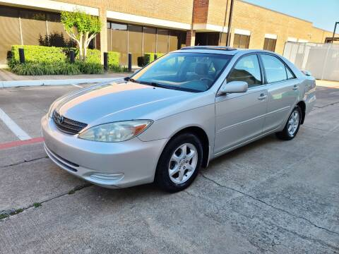2004 Toyota Camry for sale at DFW Autohaus in Dallas TX