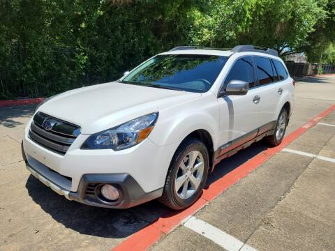 2014 Subaru Outback for sale at DFW Autohaus in Dallas TX