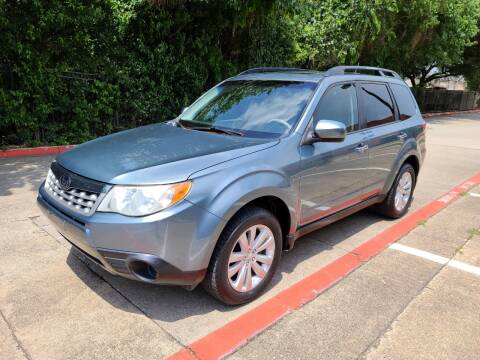 2012 Subaru Forester for sale at DFW Autohaus in Dallas TX