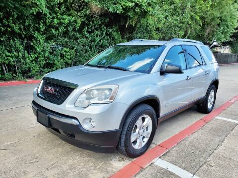2012 GMC Acadia for sale at DFW Autohaus in Dallas TX