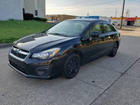 2012 Subaru Impreza for sale at DFW Autohaus in Dallas TX