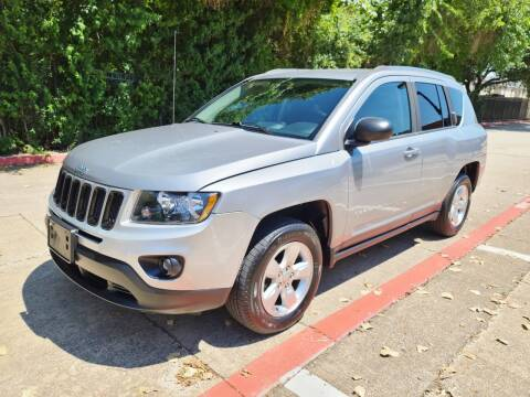 2014 Jeep Compass for sale at DFW Autohaus in Dallas TX
