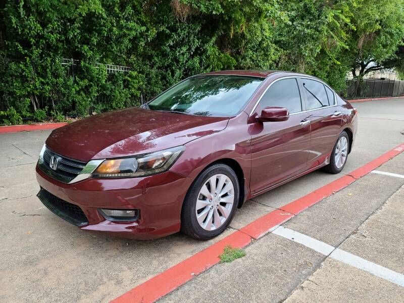 2014 Honda Accord for sale at DFW Autohaus in Dallas TX