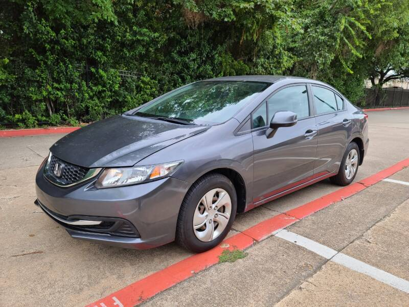 2013 Honda Civic for sale at DFW Autohaus in Dallas TX