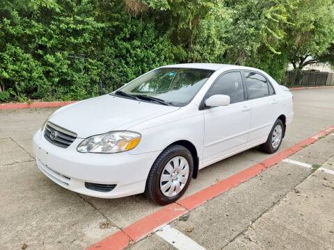 2004 Toyota Corolla for sale at DFW Autohaus in Dallas TX