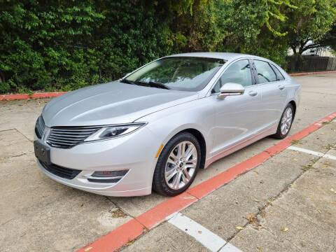 2014 Lincoln MKZ Hybrid for sale at DFW Autohaus in Dallas TX