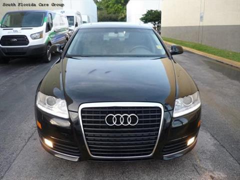 2010 Audi A6 for sale in Miami, FL