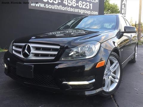 2012 Mercedes-Benz C-Class for sale in Miami, FL