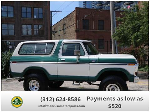 1979 Ford Bronco for sale in Chicago, IL