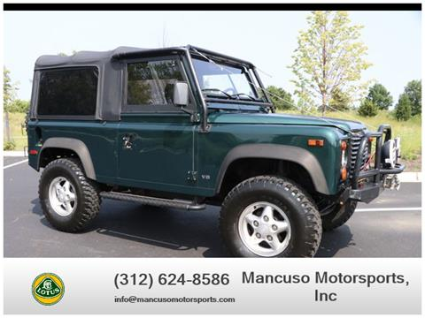 Land Rover Chicago >> Used Land Rover Defender For Sale In Chicago Il Carsforsale Com