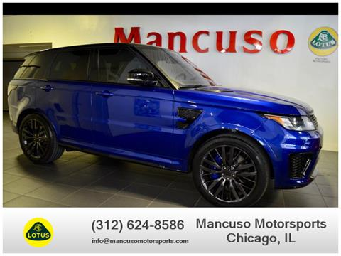 Land Rover Chicago >> 2016 Land Rover Range Rover Sport For Sale In Chicago Il