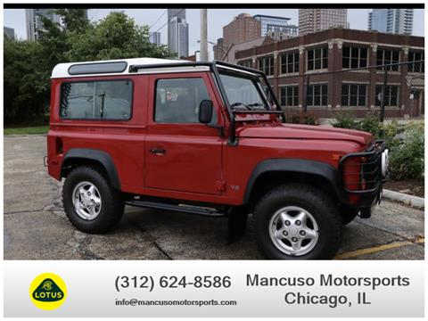 Land Rover Chicago >> 1997 Land Rover Defender For Sale In Chicago Il