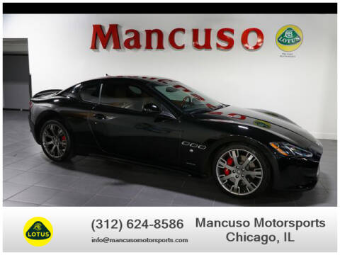 2013 Maserati GranTurismo for sale at Mancuso Motorsports in Chicago IL