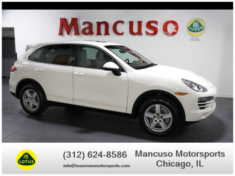2012 Porsche Cayenne Tiptronic for sale at Mancuso Motorsports in Chicago IL