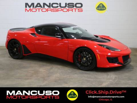 2020 Lotus Evora GT for sale at Mancuso Motorsports in Glenview IL