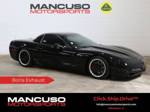 2004 Chevrolet Corvette for sale at Mancuso Motorsports in Glenview IL