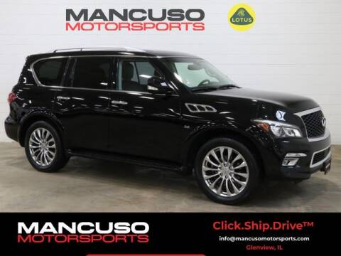 2017 Infiniti QX80 for sale at Mancuso Motorsports in Glenview IL