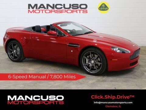 2007 Aston Martin V8 Vantage for sale at Mancuso Motorsports in Glenview IL