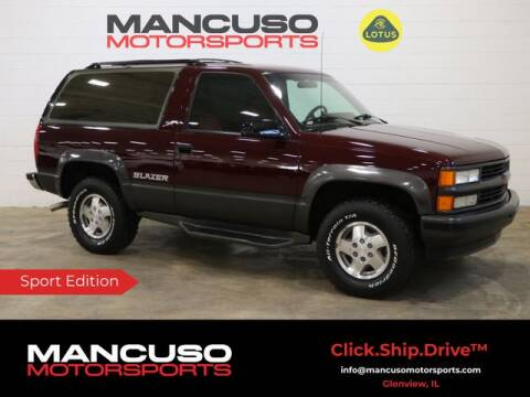 1994 Chevrolet Blazer for sale at Mancuso Motorsports in Glenview IL