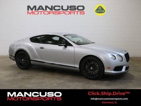 2013 Bentley Continental for sale at Mancuso Motorsports in Glenview IL