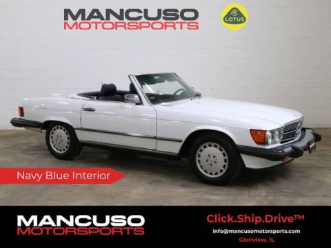 1989 Mercedes-Benz 560-Class for sale at Mancuso Motorsports in Glenview IL