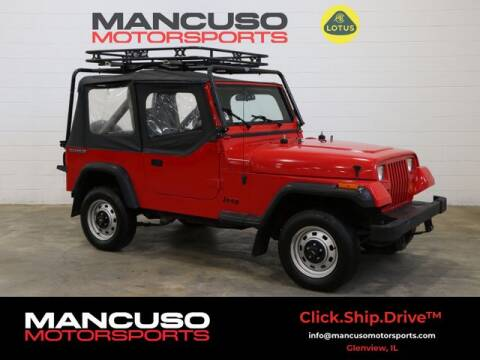 1989 Jeep Wrangler for sale at Mancuso Motorsports in Glenview IL