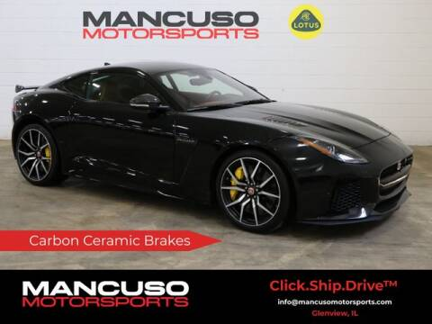 2017 Jaguar F-TYPE for sale at Mancuso Motorsports in Glenview IL