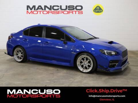 2016 Subaru WRX for sale at Mancuso Motorsports in Glenview IL