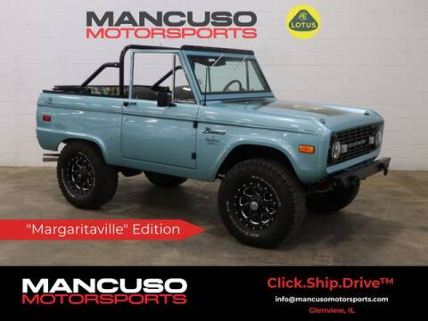 1973 Ford Bronco for sale at Mancuso Motorsports in Glenview IL