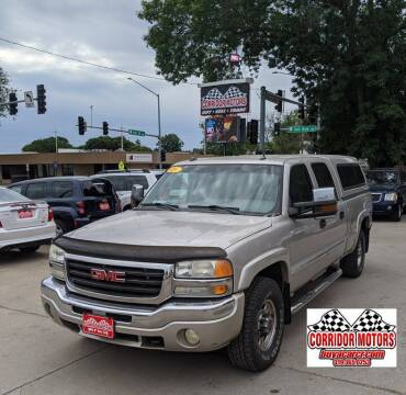 2005 GMC Sierra 1500HD for sale at Corridor Motors in Cedar Rapids IA