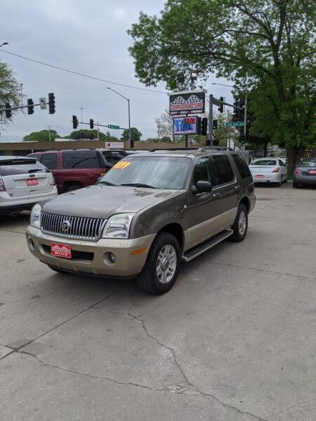2004 Mercury Mountaineer for sale at Corridor Motors in Cedar Rapids IA