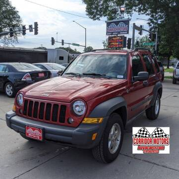 2006 Jeep Liberty for sale at Corridor Motors in Cedar Rapids IA