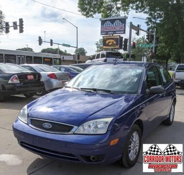 2005 Ford Focus for sale at Corridor Motors in Cedar Rapids IA