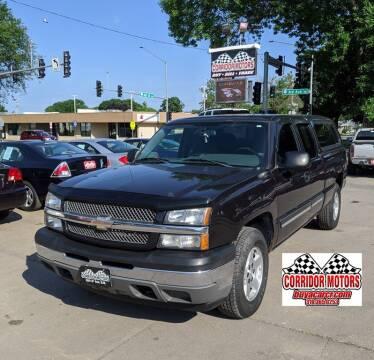 2005 Chevrolet Silverado 1500 for sale at Corridor Motors in Cedar Rapids IA