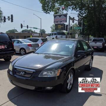 2006 Hyundai Sonata for sale at Corridor Motors in Cedar Rapids IA