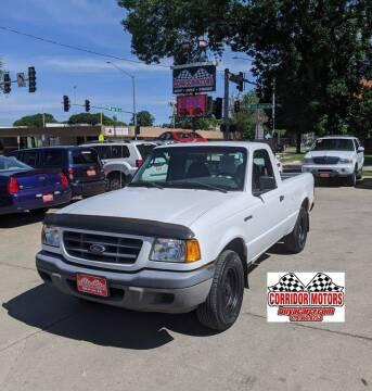 2003 Ford Ranger for sale at Corridor Motors in Cedar Rapids IA