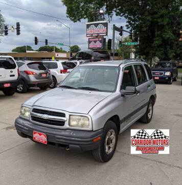 2001 Chevrolet Tracker for sale at Corridor Motors in Cedar Rapids IA