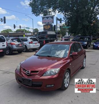 2009 Mazda MAZDA3 for sale at Corridor Motors in Cedar Rapids IA