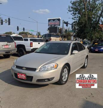 2010 Chevrolet Impala for sale at Corridor Motors in Cedar Rapids IA
