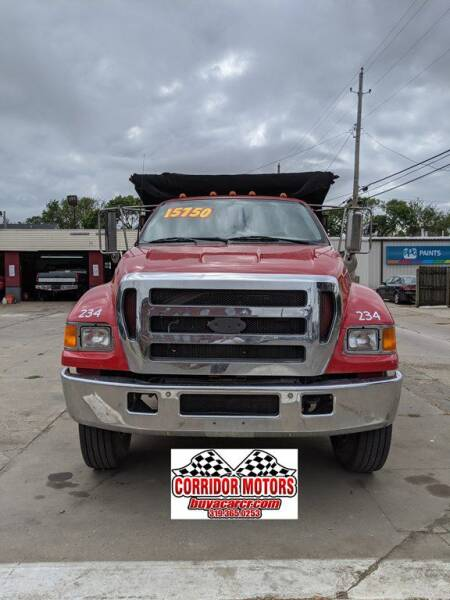 2004 Ford F-750 Super Duty for sale at Corridor Motors in Cedar Rapids IA