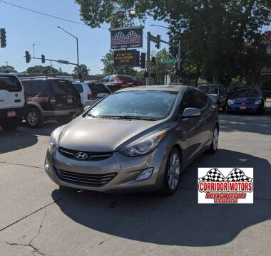 2013 Hyundai Elantra for sale at Corridor Motors in Cedar Rapids IA