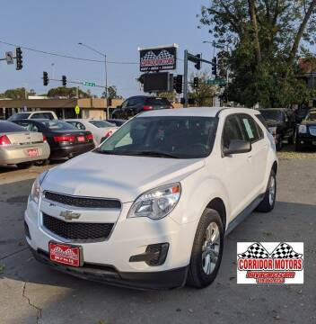2014 Chevrolet Equinox for sale at Corridor Motors in Cedar Rapids IA