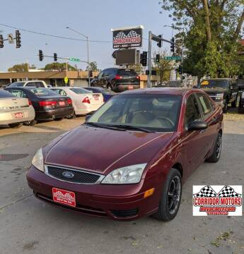 2006 Ford Focus for sale at Corridor Motors in Cedar Rapids IA