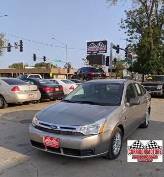 2008 Ford Focus for sale at Corridor Motors in Cedar Rapids IA
