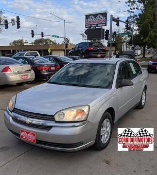 2005 Chevrolet Malibu for sale at Corridor Motors in Cedar Rapids IA