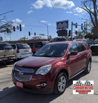 2011 Chevrolet Equinox for sale at Corridor Motors in Cedar Rapids IA