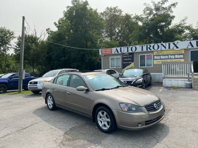 2005 Nissan Altima for sale at Auto Tronix in Lexington KY