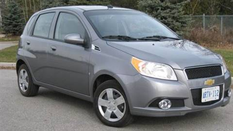 2011 Chevrolet Aveo for sale at RIVERSIDE AUTO SALES AND SERVICE in Acushnet MA